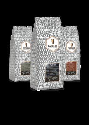 Capriole Proefpakket Koffiebonen XL 3x1000 gram.
