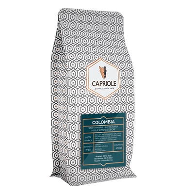 Koffiebonen Deca Colombia La Victoria 250 gram